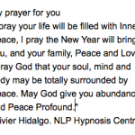Happy New Year. Peace Profound.